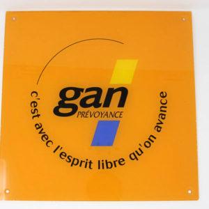 Signalétique en plexiglass sérigraphié - Serilec