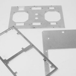 Face avant aluminium usiné - Serilec