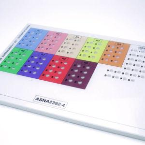Panoplie imprimée sur polycarbonate et pvc - Serilec