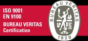 logo bureau veritas Certification_ISO9001-EN9100